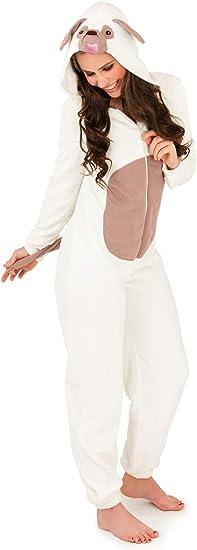 TALLA S . Loundable Boutique - Mono de forro polar para mujer, diseño de animal