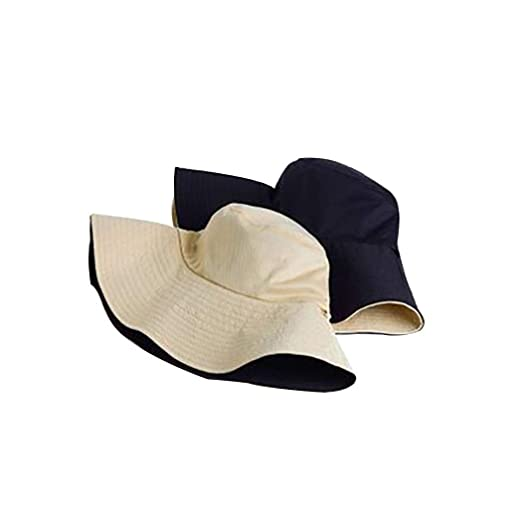 lantusi Women Casual Headwear Stretchy Soft Comfort Female Double-Sided Hat Bucket Hats