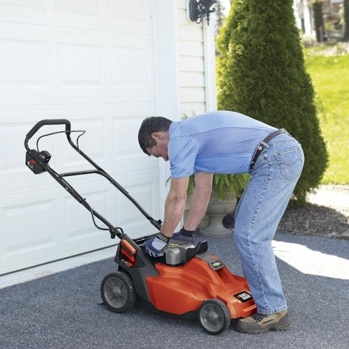 Black & Decker CM1936 19-Inch 36-Volt Cordless Electric Lawn Mower With Removable Battery Review