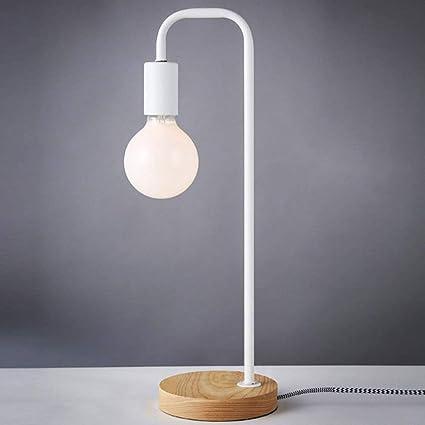 Lámpara De Mesa Estilo Industrial Mesilla De Noche para Sala ...