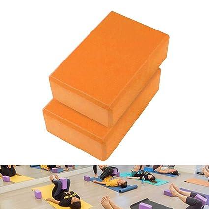 Bloque De Yoga Pilates De 2 Piezas, Ladrillos De Espuma Eva ...