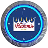 Neonetics Hamms Beer Neon Clock
