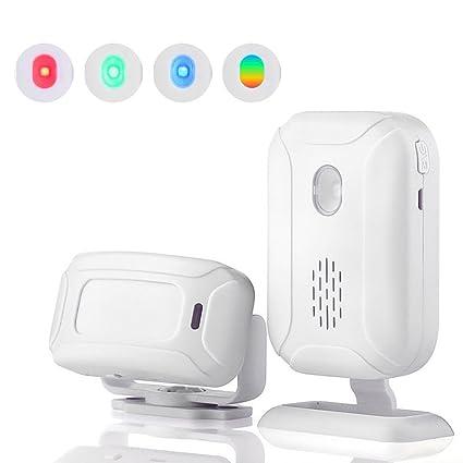 Teepao - Alarma de Seguridad inalámbrica para el hogar - 1 ...