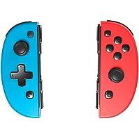 Controle Nintendo Switch Joy-Pad Meglaze Neon Blue & Red