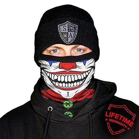 Original SA Company.Panno multifunzione, termico, può essere utilizzato come sciarpa, maschera. È ideale per Carnevale, Halloween o come regalo invernale., Blue Digital Thermo