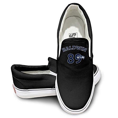 (TAYC Seahawk Wide Receiver #89 Comfortable Shoe Black)