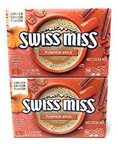 Swiss Miss Pumpkin Spice Hot Cocoa Mix Bundle of 2