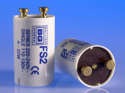 (GE Starter Switch 4-22W Reference FS2. Series 220-240V)