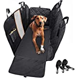 Dog Car Seat Cover, Waterproof Anti-Scratch with Mesh Window, Nonslip Back Seat Pet Protection,Dog Seat Cover for Cars/Trucks/SUV