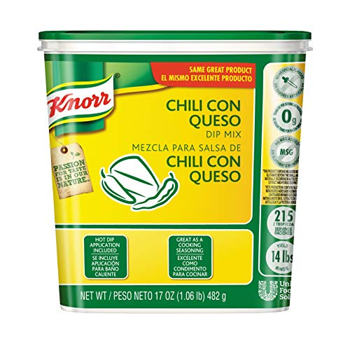 Knorr Chili Con Queso Dip Mix, 1.06 Pound - 6 per pack - 1 each. - Con Queso Dip Mix