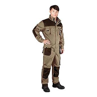 Leber/&Hollman LH-FMN-T/_BE346 talla 46 color beige y marr/ón Pantalones protectores