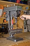 "Genesis GDP805P 5-Speed 2.6 Amp 8"" Drill Press with 1/2"" Chuck, Adjustable Depth Stop, Tilt Table, and Chuck Key"