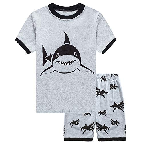 (Little Hand Kids Pajamas Boys Shorts Set for Toddler Summer Clothes Sleepwear Children Size 6 )