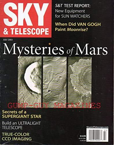 Sky and Telescope, Vol. 106, No. 1, July 2003 (Eye Of The Storm Questions And Answers)