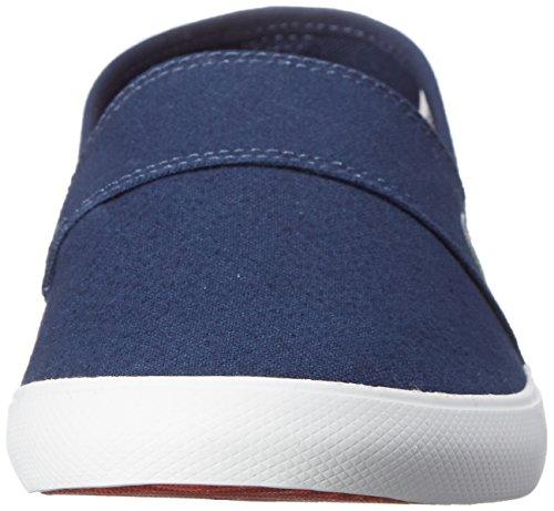 Men's Blue LCR Lacoste Dark Loafer Blue Canvas Marice Dark fZqWFwW17H