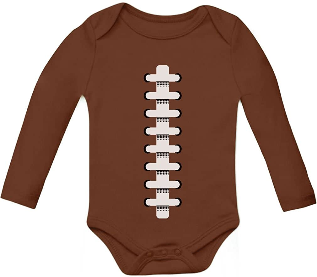 Tstars Football Outfit Unisex Baby Grow Vest Sports Bodysuit Baby Long Sleeve Onesie G0PMPl0gb