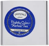 Twinings of London K-Cup Portion Pack for Keurig K-Cup Brewers Nightly Calm Tea, 72 Count (Pack of 6)