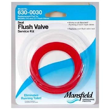 mansfield plumbing flush valve service pack fits flush valve