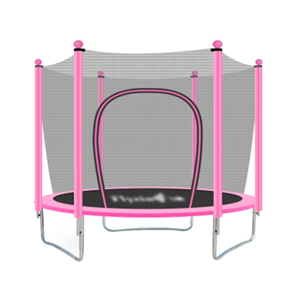 59 Zoll Trampoline mit Schutzpolster und Handlauf, Spaß Mini Fitness 5 Fuß Trampolin für Kinder Erwachsene - Max Load 330lbs