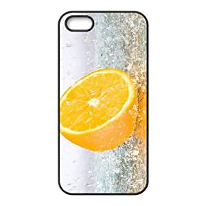 Orange Phone Case For iPhone 5,5S [Pattern-1]