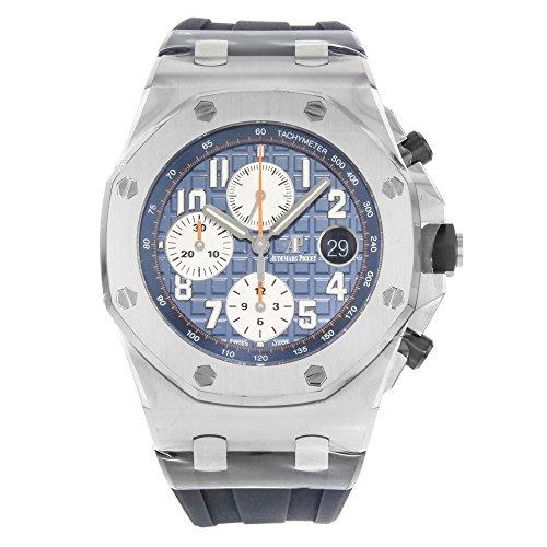 Audemars Piguet Royal Oak Offshore Blue Dial Chronograph Mens Watch 26470STOOA027CA01