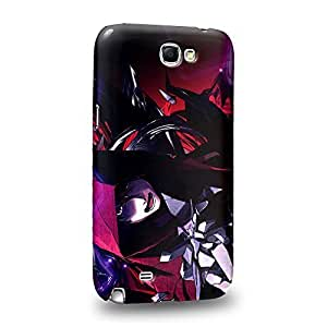 Case88 Premium Designs Guilty Crown GC Funeral Parlor Shu Ouma 1195 Protective Snap-on Hard Back Case Cover for Samsung Galaxy Note 2