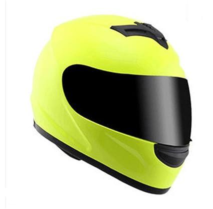 TOUKUI Casco De Moto Casco Completo black visor S