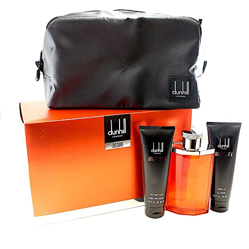 Alfred Dunhill Desire Red 4 Piece Gift Set, 1 Count (Alfred Dunhill Desire Edt Spray)
