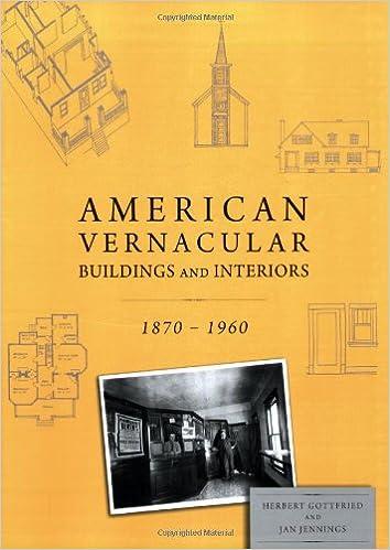 Book American Vernacular Architecture and Interior Design 1870-1960