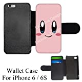 kirby iphone 6 case - Cartoon Girl Cute Kirby LOL Custom Credit Card Holder Flip Wallet Black Case/Cover/Skin for iPhone 6 / 6S (Ships from CA)