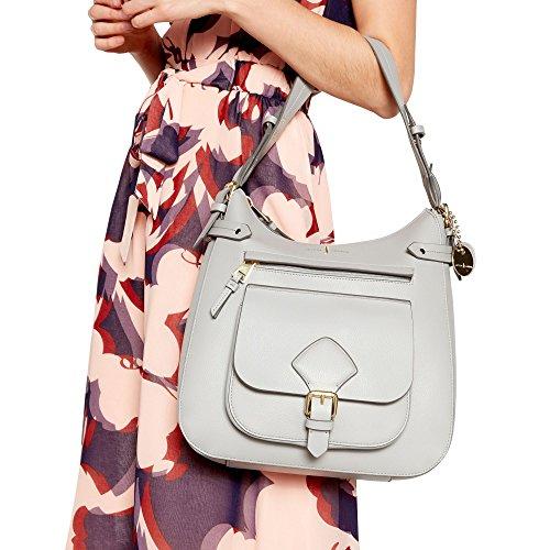 Womens Jasper Grey Hill' Conran Bag Finish By Textured Shoulder J 'Strawberry qfWOPP
