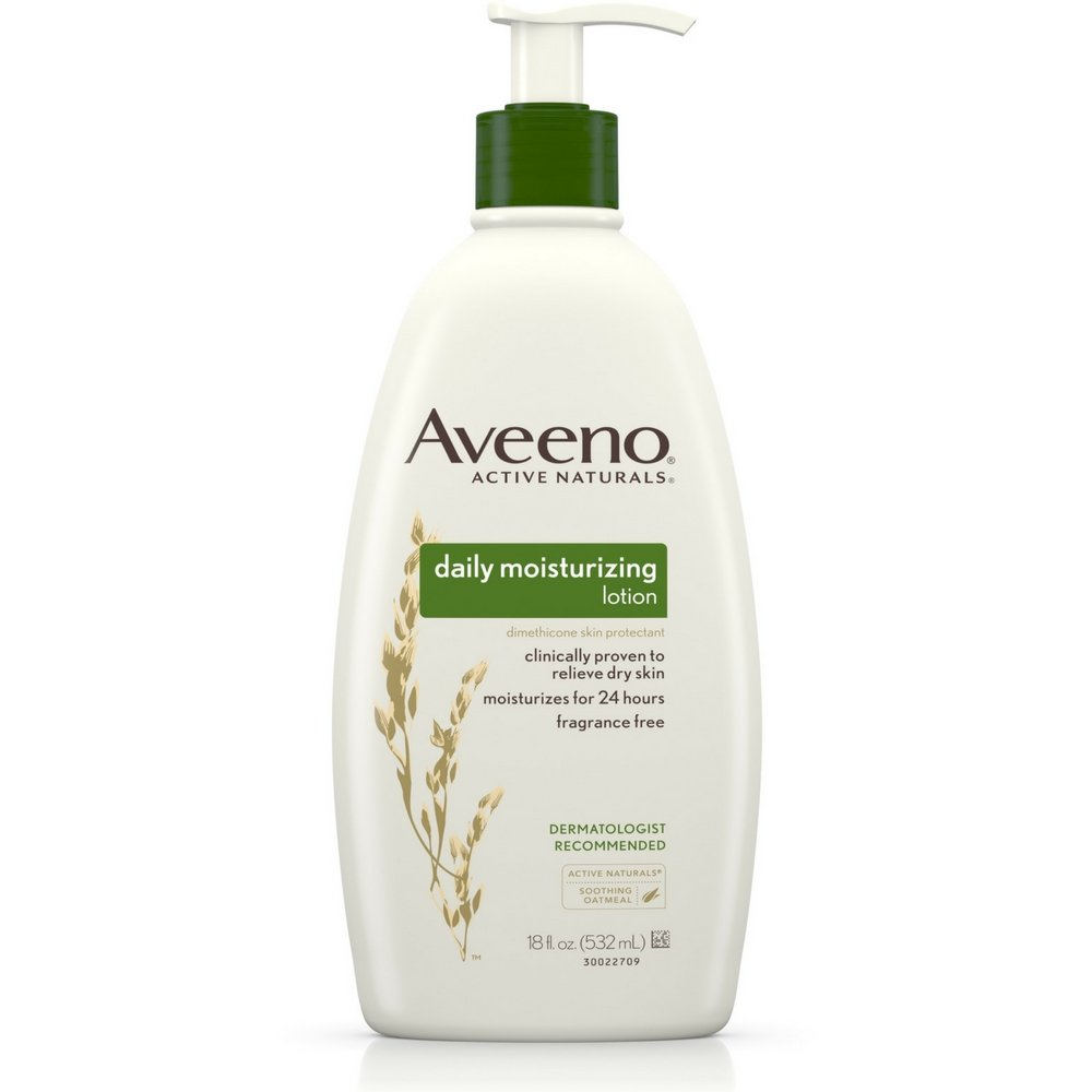 Aveeno Daily Moisturizing Lotion 18 oz (Pack of 2)