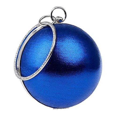 Di Da Sera Borsa Banchetto Le Sera Blue Mini Selvatici Vestito La Tondo Sacchetto Signore Clutch Abito WYBXA 87wRPqR