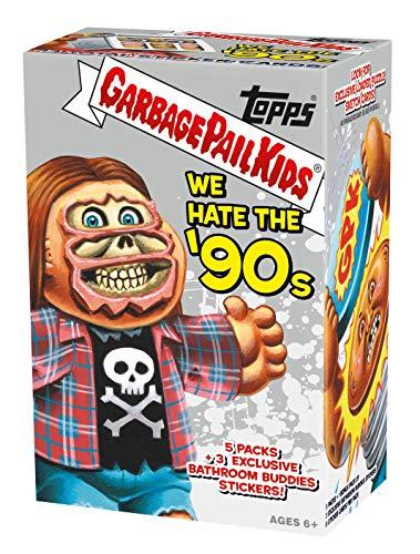 Stickers Garbage Pail (Garbage Pail Kids We Hate The '90s Trading Sticker Cards Retail Blaster Box)
