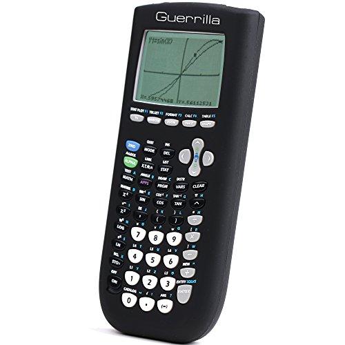 Guerrilla+Silicone+Case+for+Texas+Instruments+TI-84+Plus+Calculator+(Black)