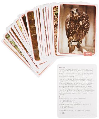 Edupress 32 Piece Reading Comprehension Science Cards Set about Freshwater - Edupress Awards