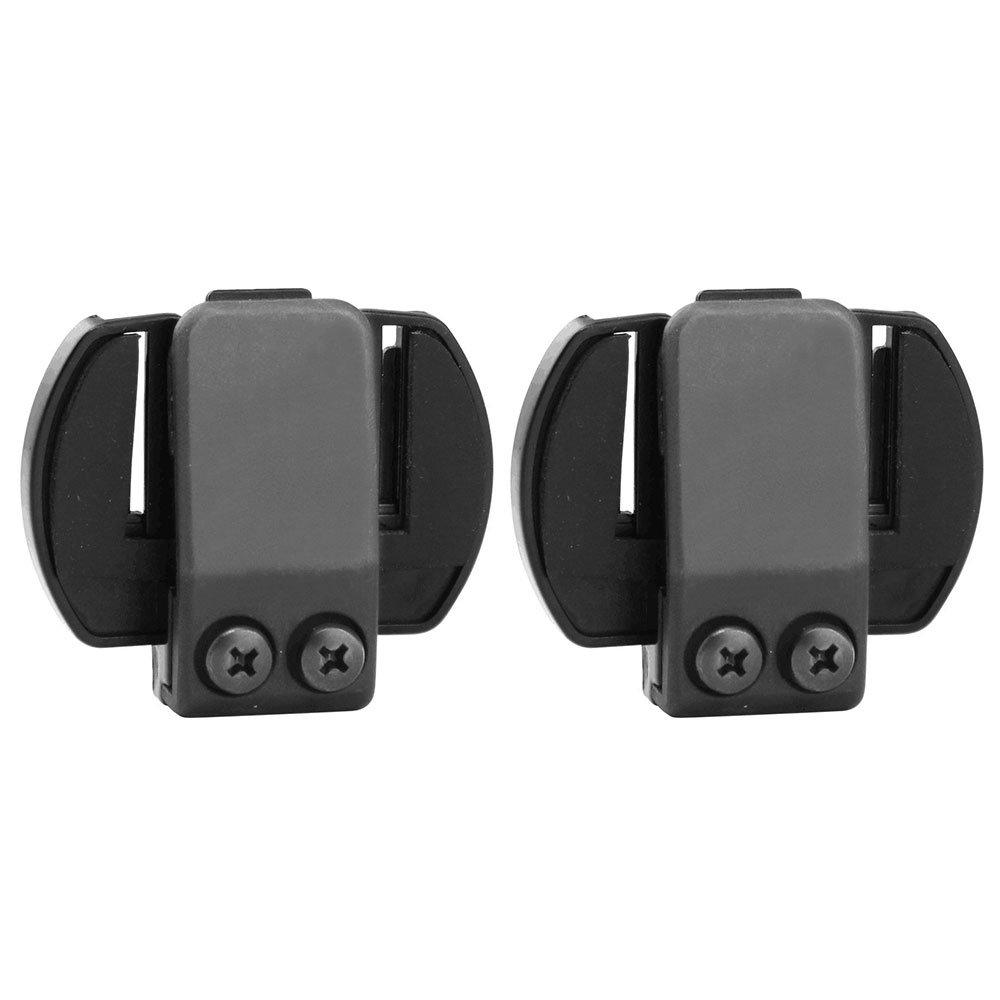 LEXIN 2 pcs Mounting Brackets for A4/R6 Bluetooth Intercom, motorcycle intercom clip