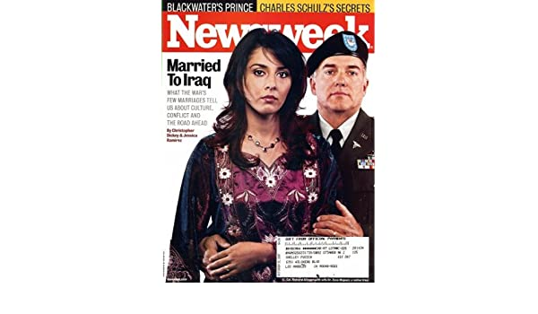 Newsweek 2007 October 22 - Married to Iraq: What the war's Few