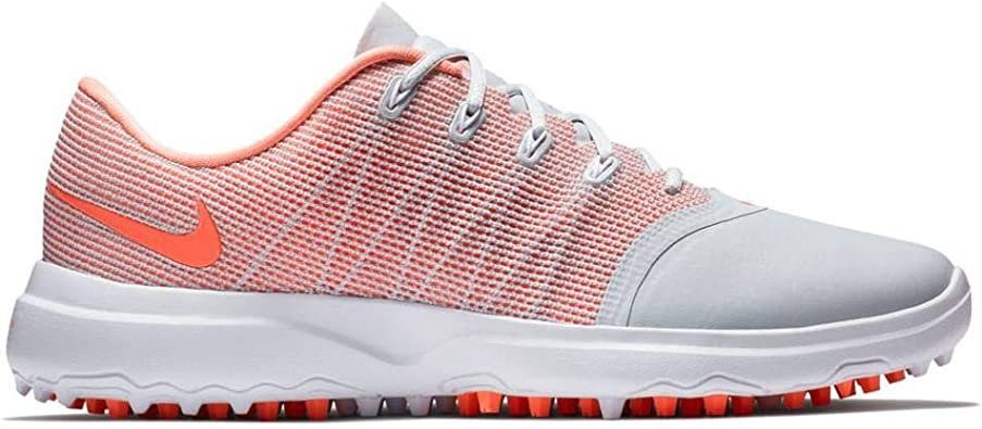 Amazon Com Nike Lunar Empresss 2 Spikeless Golf Shoes 2018 Women Pure Platinum Light Atomic Pink White Medium 5 Golf