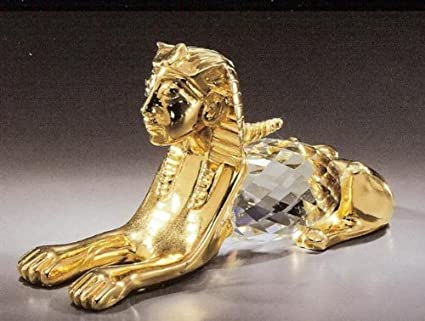 Unique Asfour Crystal Egyptian Alligator crocodile Made In Egypt ASFOUR Crystal is a legacy of luxurious crystal that enlightens the globe.