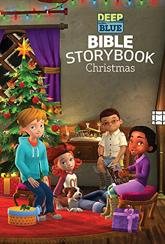 Deep Blue Bible Storybook Christmas