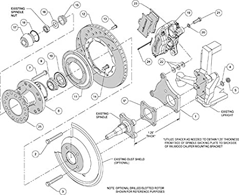 Amazon Com New Wilwood Front Rear Disc Brake Kit With Brake Lines