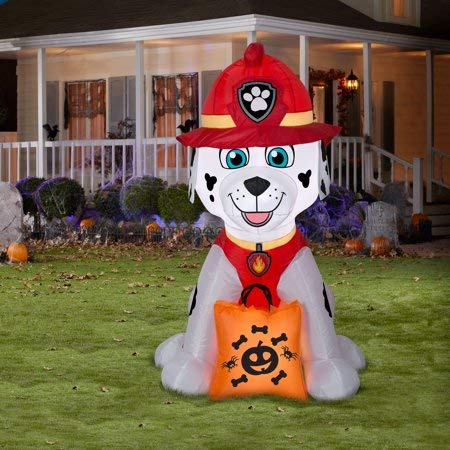 Airblown Inflatables Halloween Marshall with Treat Sack 4FT Tall by Gemmy -
