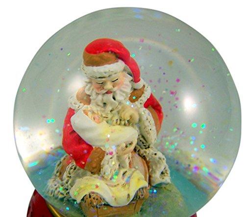 Gifts Of Faith Musical Christmas Snow Globe, O Come All Ye Faithful by CB Gift (Image #1)