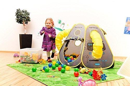Bä llebad SPACE inklusive 100 BÄ LLE Spielzelt Spielhaus Pop-Up-Zelt NEU OVP empasa