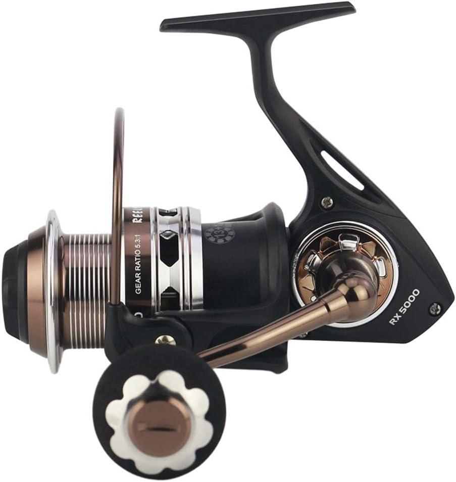フライリール フルメタル釣りリール釣りリール釣りギアブレーキ海水耐性のカーボンクロス (Size : RX9000)  RX9000