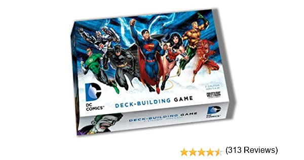 Rebirth Launch Kit with PLAYMAT NEVER PLAYED BRAND NEW DC Deck-Building Game