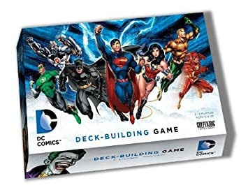 best super hero deck building game with dc heros