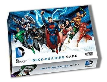 best super hero deck building game with dc heros