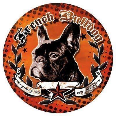 Französische Bulldogge Hunde Aufkleber French Bulldog Sticker Decal Lilly Dub Auto
